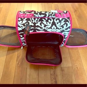 Handbags - Fun Dog or Cat Carrier in Black and White Pattern